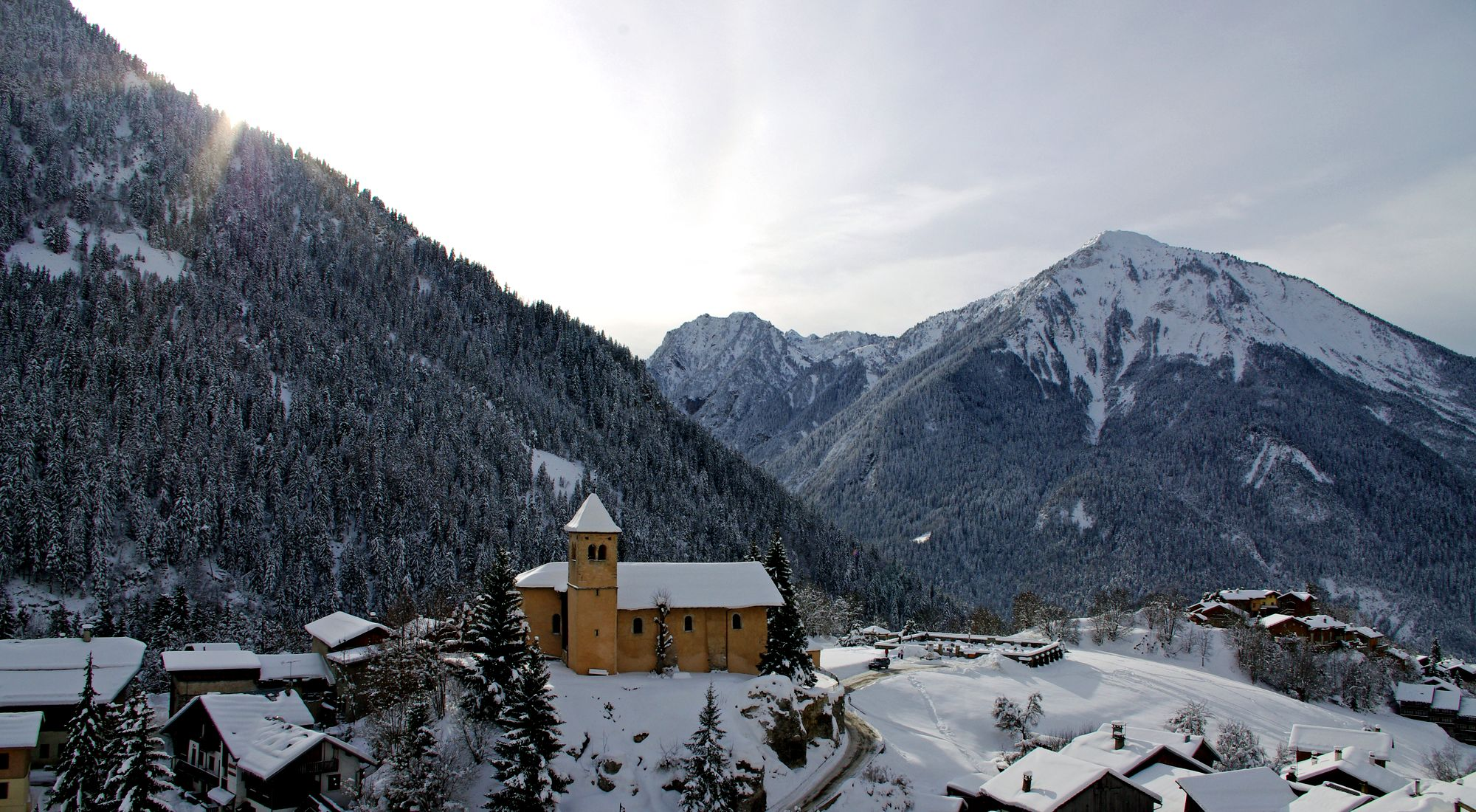 In Champagny, the village is your home