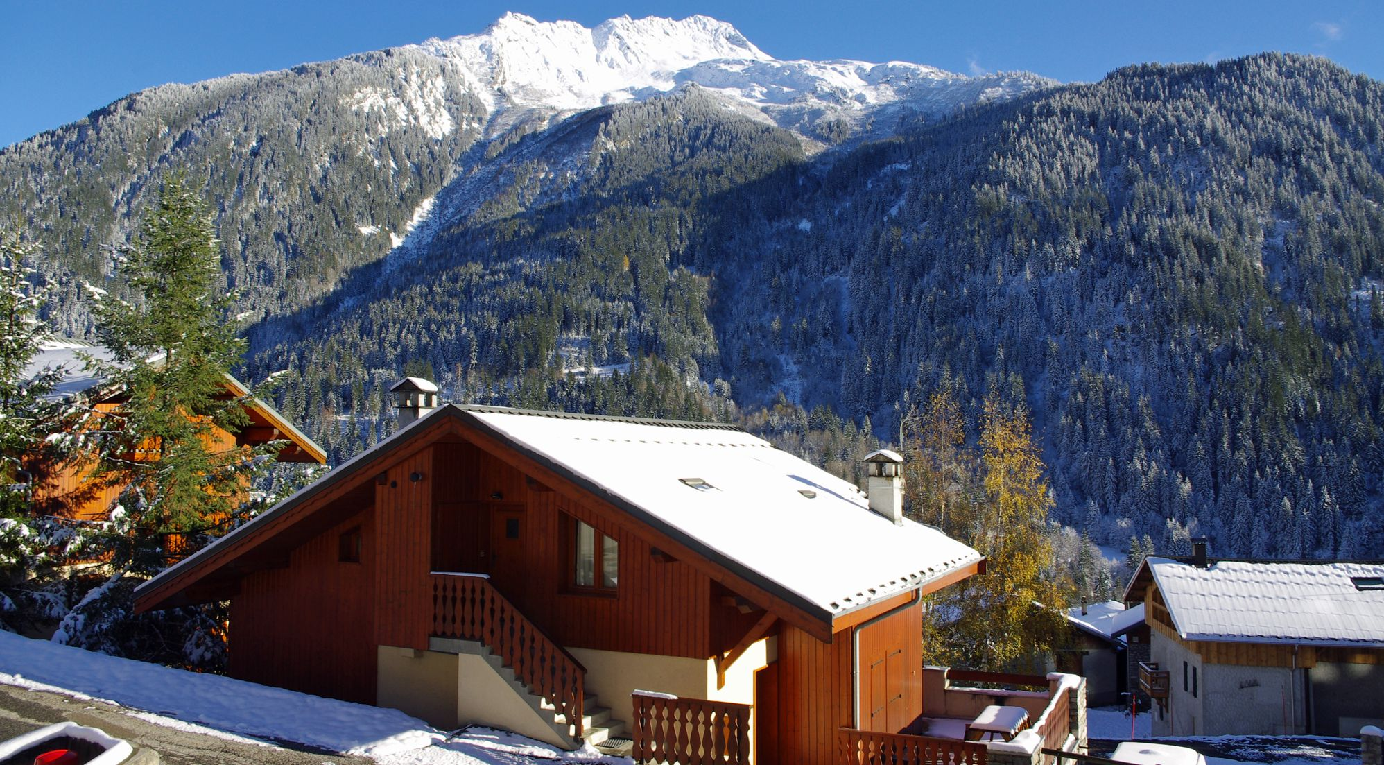 Location Champagny - Chalet Roselin B - Agence du Roc Blanc