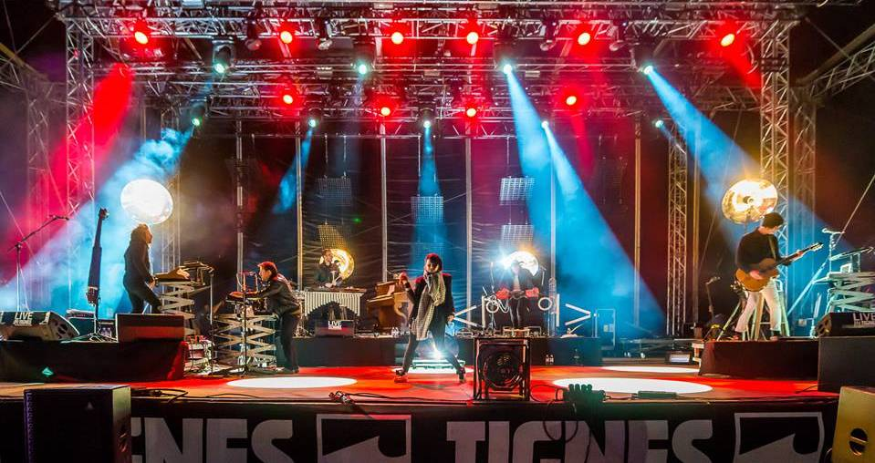 Caravan Palace Live in Tignes by Francofolies Avril 2016