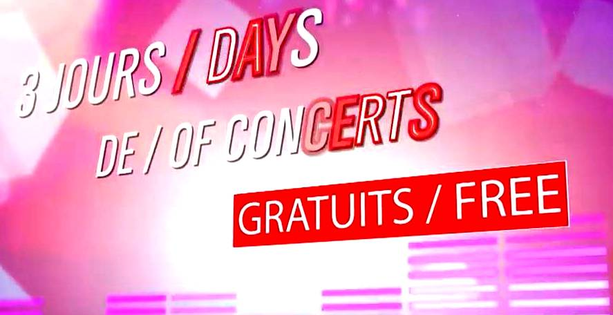 Live in Tignes by Francofolies Avril 2016 - concerts gratuits