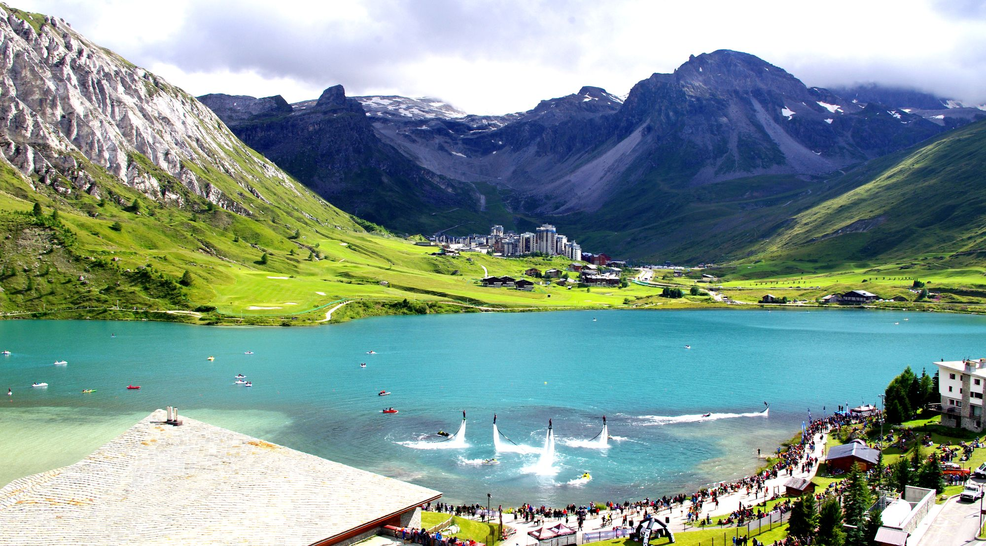 Le Lac de TIGNES, it's a kind of magic