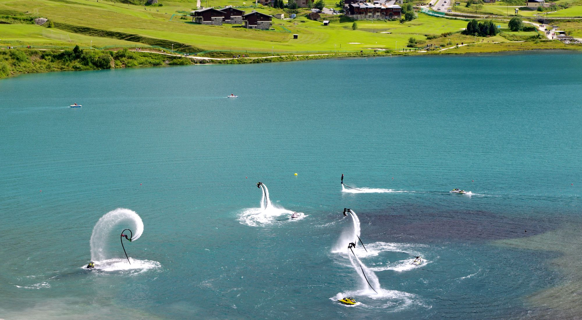 Flyboard Show 2016: ils surfent les vagues d'Hawai