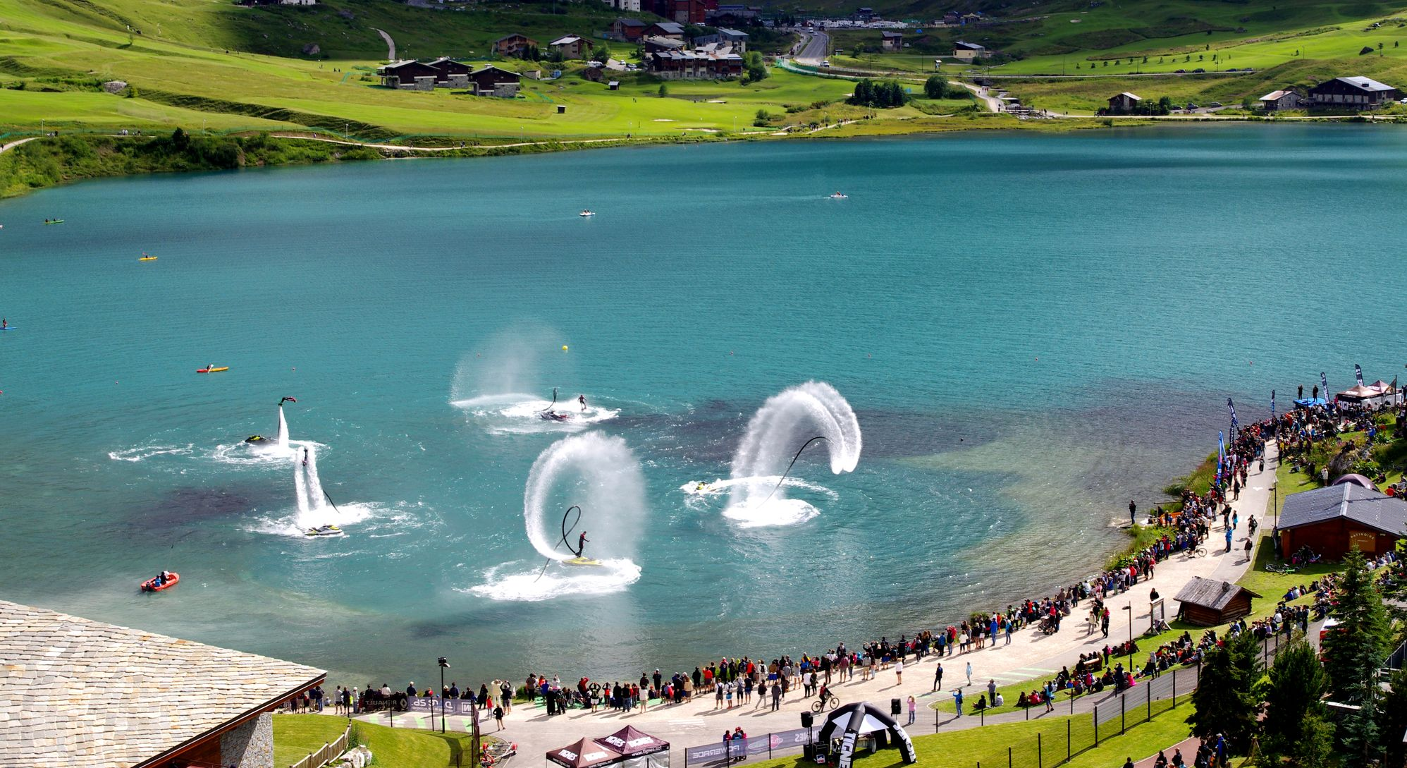 Flyboard Show 2016: comme le souffle des baleines