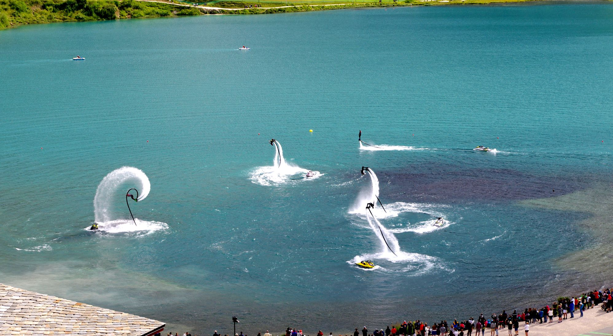 Flyboard Show 2016 : pour un looping de plus