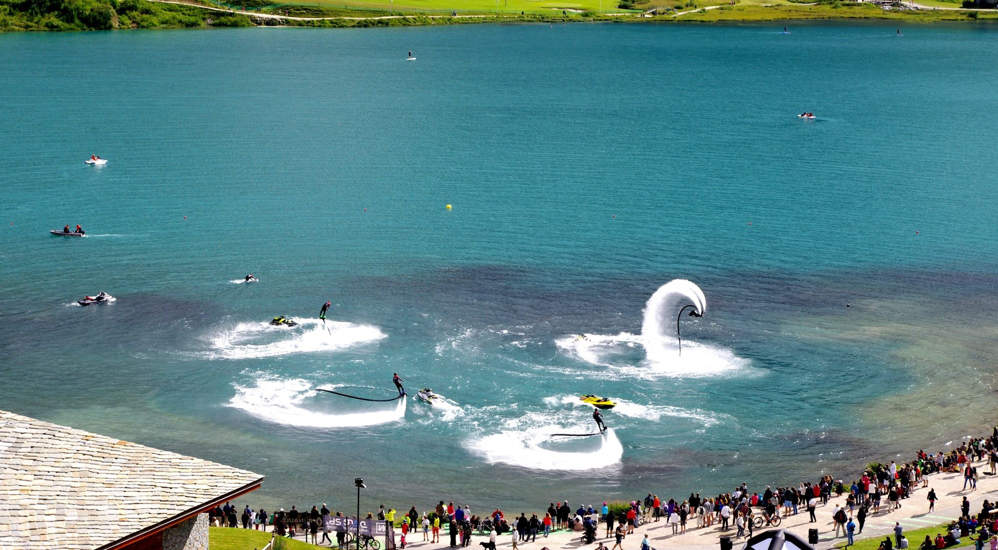 Flyboard Show 2016 : le bouquet final